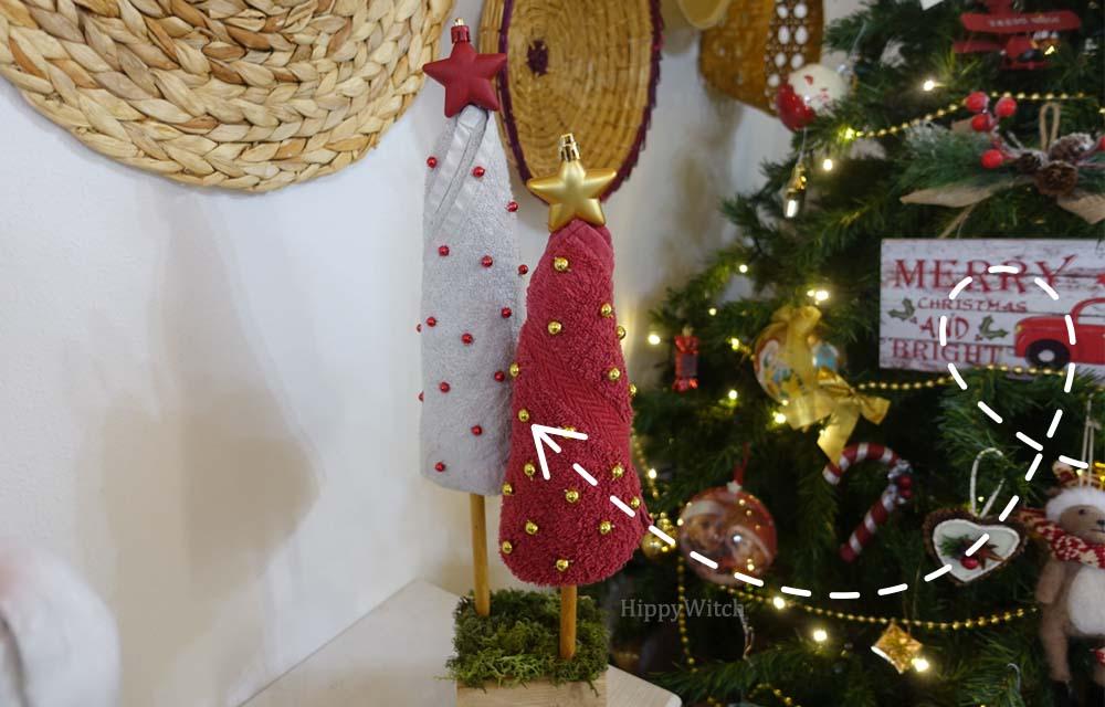 Come riutilizzare vecchi asciugamani! idea per Natale